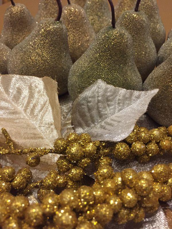 Golden Pear Bowl Fillers