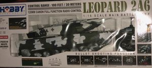 LEOPARD 2A6 1:16 SCALE MAIN BATTLE TANK for Sale for sale  Miami, FL