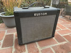 Kustom guitar amp with celestion super 8s for Sale in Rancho Palos Verdes, CA