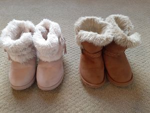 Pair of Girl Boots (Size 9 & 10) for Sale in Rockledge, FL
