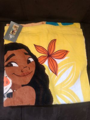 Disney Moana Towel for Sale in Fontana, CA