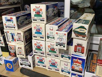 38 Hess Trucks/Vehicles All 80's 90's! for Sale in Landrum,  SC
