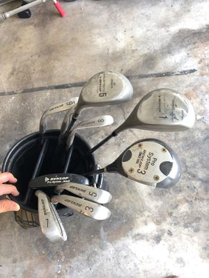 Dunlop Golf Clubs. 3I-PW and Woods for Sale in Santa Monica, CA