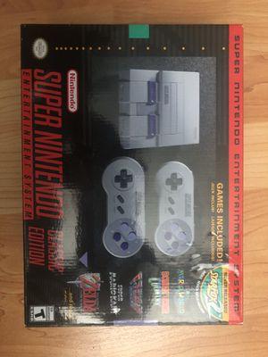 Super Nintendo classic edition for Sale in Portland, OR
