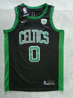6599 Boston Celtics Jayson Tatum Black Jersey for Sale in Pleasanton,  CA