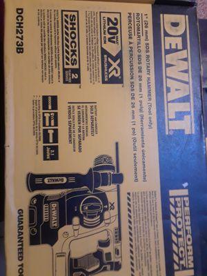 "Dewalt 20v xr brushless 1"" sds rotary hammer ( tool only for Sale in San Jose, CA"