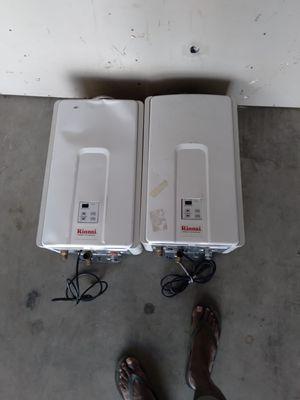 Rinnai tankless water heater 180,000btu for Sale in Vista, CA