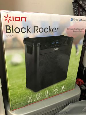 New Bluetooth wireless radio speaker system for Sale in Rockville, MD
