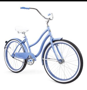 """HUFFY 24"""" GIRL'S CRANBROOK CRUISER BIKE CYCLE BLUE NEW IN BOX for Sale in Bedford, MA"""