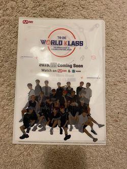 K-Pop World Klass/TOO Folder Paper Protector for Sale in Henderson,  NV