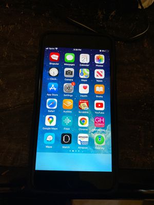 I Phone 8 plus with case and screen protector for Sale in Silver Spring, MD