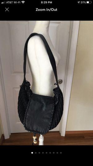 Black Genuine Hobo Shoulder Bag by Preston for Sale in Delray Beach, FL
