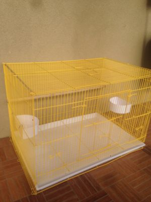 Yellow bird cage for Sale in Los Angeles, CA