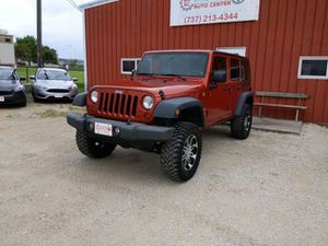 2009 Jeep Wrangler Unlimited for Sale in San Marcos, TX