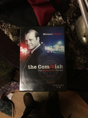 The commish starring Michael Chiklis, the complete series, seasons 1-5. Asking $180.00. Costs $233.00 brand new. This is gently used but each disk is for Sale in King, NC