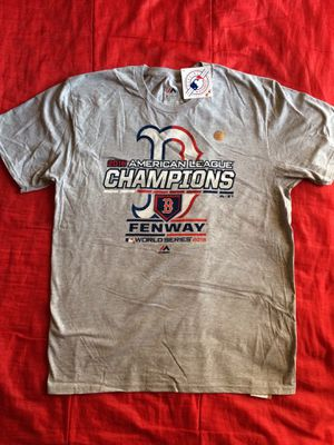Official Baseball League Boston World Champions T-shirt Large 2018 for Sale in Long Beach, CA
