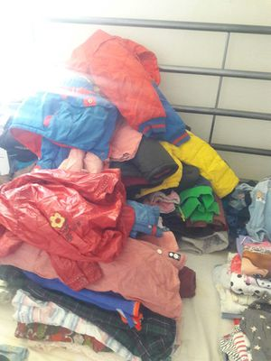 Huge lot of kids clothes boy and girl age 6 month to 5 year old for Sale in Brooklyn, NY
