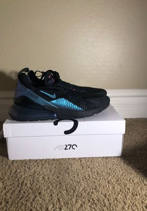 Nike Air max 270 size 12and vans athletic comfy Cush size 11 for Sale in Mesa, AZ