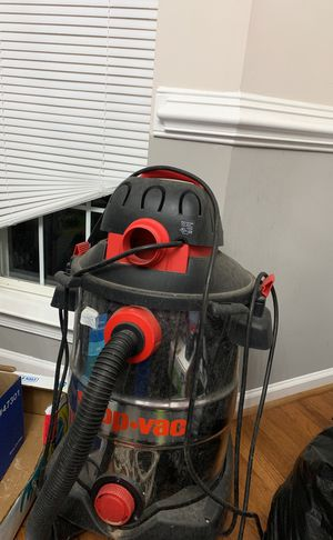 Shop vac priced to sell for Sale in Ashburn, VA
