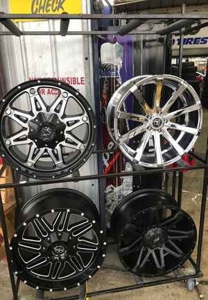 Brand new rims on special for Sale in San Antonio, TX