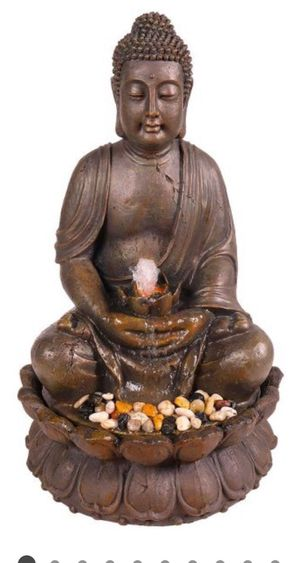 Buddha fountain with light for Sale in Vernon, CA