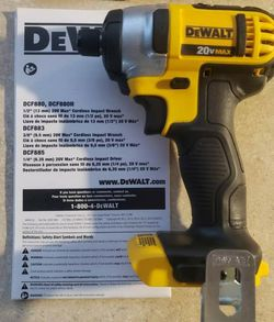 "Brand New DeWalt 1/4"" Impact Bare Tool for Sale in Hampton,  VA"