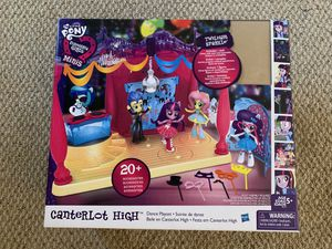 My little pony ,canter lot high, dance play set(Tags, kids toy ,girls toy) for Sale in San Diego, CA