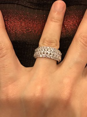 18K Gold plated Engagement/Wedding Ring for Sale in Houston, TX