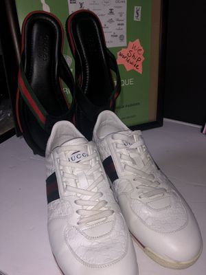 Men's Gucci sneakers and sandals size 9 selling as a set for Sale in Dublin, OH