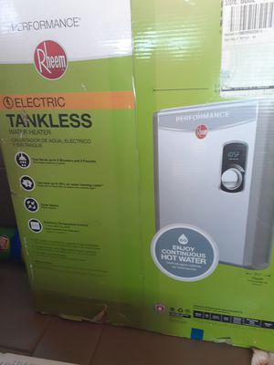 Brand new Tankless hotwater heater!! for Sale in Redding, CA