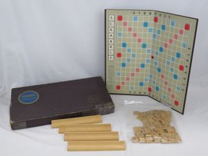 VTG 1950's Selchow & Righter Co. Scrabble Board Game SelRight Games for Sale in Spring Lake, NJ