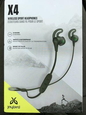 Jaybird X4 Bluetooth headphones for Sale in Tampa, FL