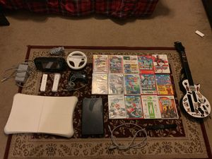 Nintendo Wii U With Games, Accessories, and cables for Sale in Gilbert, AZ