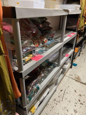 Plastic storage shelves for Sale in Richardson, TX