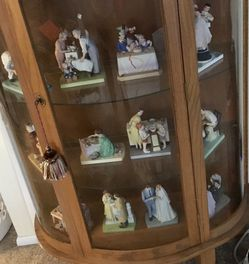 Cabinet And Norman Rockwell American Family Series Figurines for Sale in Philadelphia,  PA