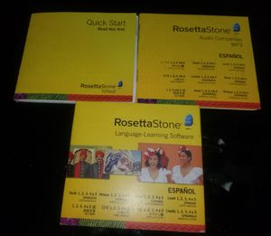 Rosetta Stone Language-Learning Software Español for Sale in Germantown, MD