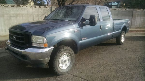 2004 Ford F-250 SD Diesel Long Bed Crew cab 4x4