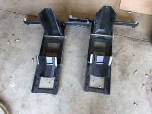 Pair motorcycle chock trailer tire for Sale in Hesperia, CA