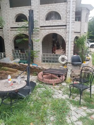 Basketball goal $5-$26, 11 white chair set patio $26 others for Sale in Manassas Park, VA