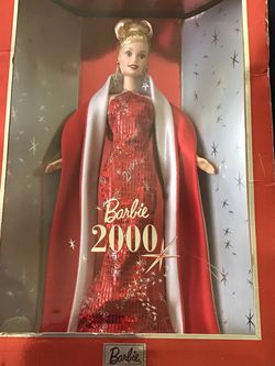 Collector Edition : Barbie 2000 Doll, Gown, Jewelry , Shoes, Doll Stand, Certificate Of Authenticity. for Sale in Richmond,  CA
