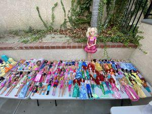 Mattel Barbies, etc. PLEASE read more!! for Sale in Yorba Linda, CA