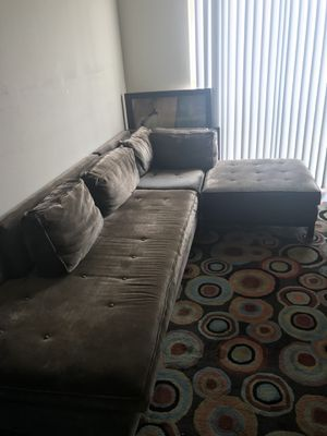 Section and Ottoman for Sale in Atlanta, GA