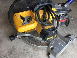 Dewalt Miter Saw - works absolutely great for Sale in Bothell, WA
