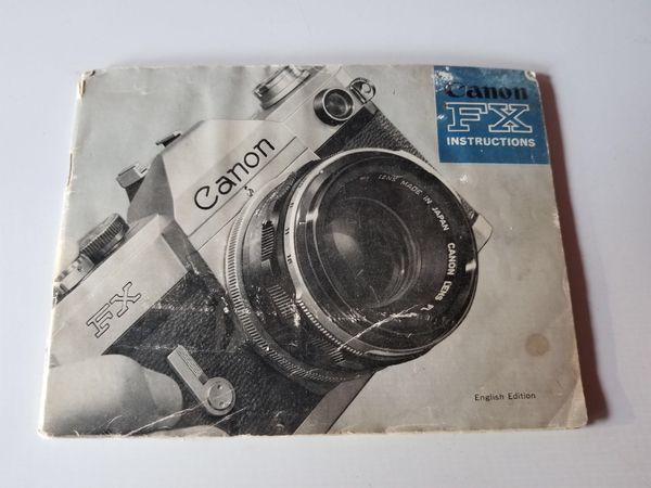 Canon FX 35mm Film Camera w/ 3 Lenses