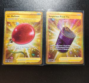 Two Gold Pokemon Cards! for Sale in Roseville, CA