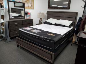 4pcs Queen Bedroom Set for Sale in Long Beach, CA