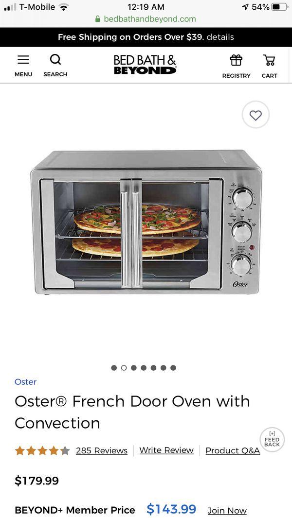oster digital french door countertop oven,new