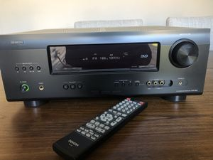 Denon AVR-391 RV Stereo Amplifier with 3D HDMI and Remote Control for Sale in Garland, TX
