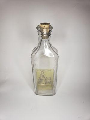 Antique vintage blue ribbon medecine bottle for Sale in Grand Terrace, CA