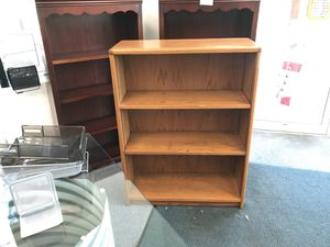 Bookshelf's. Light brown only for Sale in Solon, OH